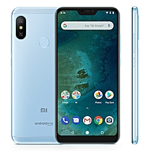 Mi A2 Lite 3GB+32GB Global Offical Version 4000mAh Battery 5.84 inch Android One Qualcomm Snapdragon 625 Octa Core up to 2.0GHz 4G Smartphone(Blue)