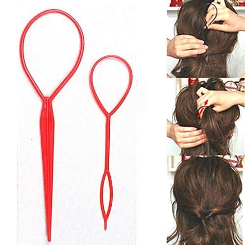 Fashion Zetenis Magic Hair Twist Styling Clip Stick Bun Hairstyle