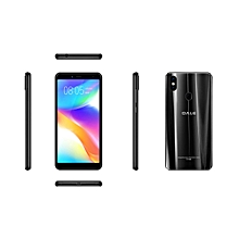 P3 - 5.45'' - 16GB ROM - 2GB RAM, Finger Print - 5MP + 8MP Dual Camera - 4G - 2700mAh -Plus Free screen protector +Phone caver- Black