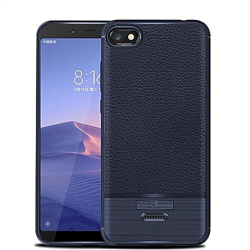 wholesale dealer c316c 7460c For Xiaomi Redmi 6A Case Luxury Litchi Pattern Soft Silicone Cover For  Xiaomi Redmi 6 A Back Handphone Casing 214715 c-4 (Color:Main Picture)