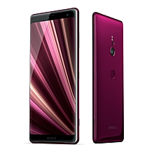 Xperia XZ3 6.0-Inch (6GB RAM, 64GB ROM) Android 9.0 Pie, (19MP + 13MP) Dual SIM LTE Smartphone - Bordeaux Red