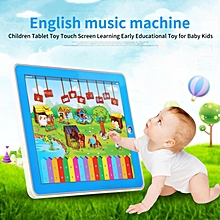 Children Tablet Toy Touch Screen Learning Early Educational Toy For Baby Kids