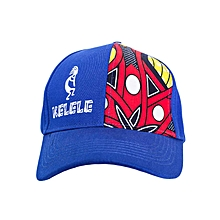 Royal Blue And Red Baseball   Sports Hat With Kelele Color On Panel 517f7fdc7383