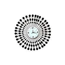 Sunflower design decorative wall clock