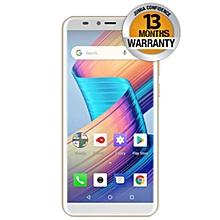 "V28- 5.7"" FullView Display- 16GB+1GB- 8MP- 3100mAh- Fingerprint - Android 8.1- Dual SIM- Golden"