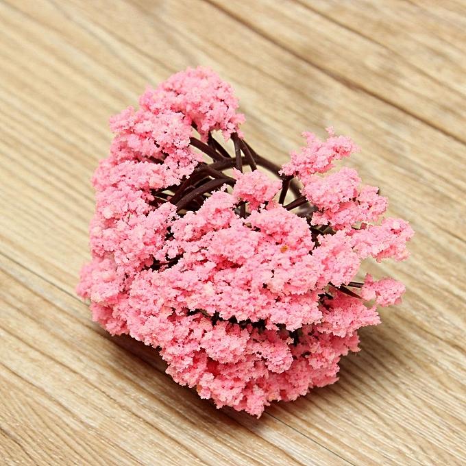Buy generic light pink flower tree miniature fairy garden dollhouse light pink flower tree miniature fairy garden dollhouse layout model decor 8cm mightylinksfo