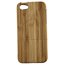 Natural Bamboo Wood Hard Back Case Cover Protector for Apple iPhone 5 5S