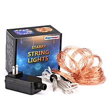 360 LED Copper Wire Branch String Lights - Copper Color
