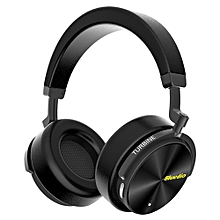 Active Noise Cancelling Wireless Bluetooth Headphones Over Ear Portable Stereo Bass Headsets ANC Earphone with Mic