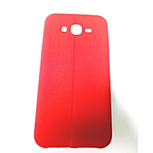 Samsung Galaxy J7 -  Back Cover – Red