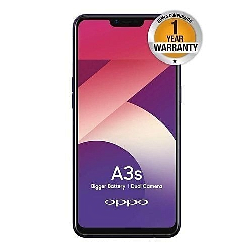 A3s, 2GB +16GB (Dual SIM), Purple