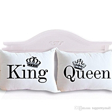 king and queen pillow cover