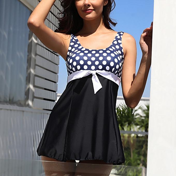56219d30b081b shioakp Women Tankini Sets With Boy Shorts Ladies Bikini Set Swimwear  Push-Up Padded Bra ...