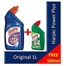 Buy Harpic 1L Get 500ml Pine FREE