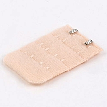 Women Bra Strap Lengthened Buckle Alloy Buckle 2 Hooks 3 Rows Extender Buckle