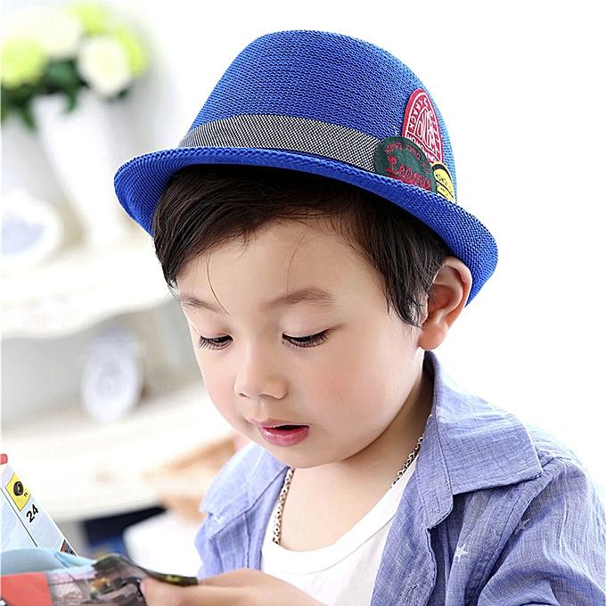 5265bf363b08 Generic jiuhap store Summer Baby Hat Cap Children Breathable Hat ...