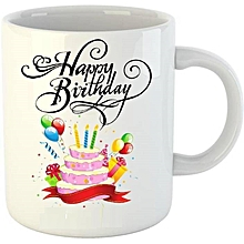 Birthday Mug - White