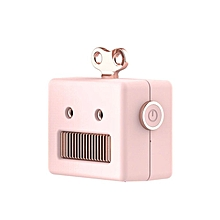 Creative Vintage Robot Speaker Cartoon Cute Mini Wireless Bluetooth Speaker pink