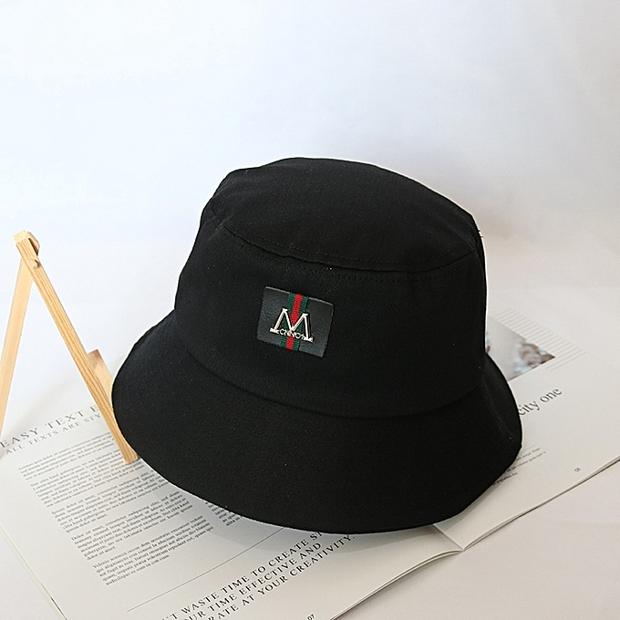 aaa12b90076 ... M greatly marks)Ulzzang fisherman hat male tide card hip-hop boy the hat  current is handsome female summer Han Ban Bai take Japanese-style black