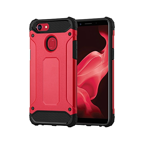 new concept 8f244 91afa Oppo F5 Youth Armor Back Cover - Red