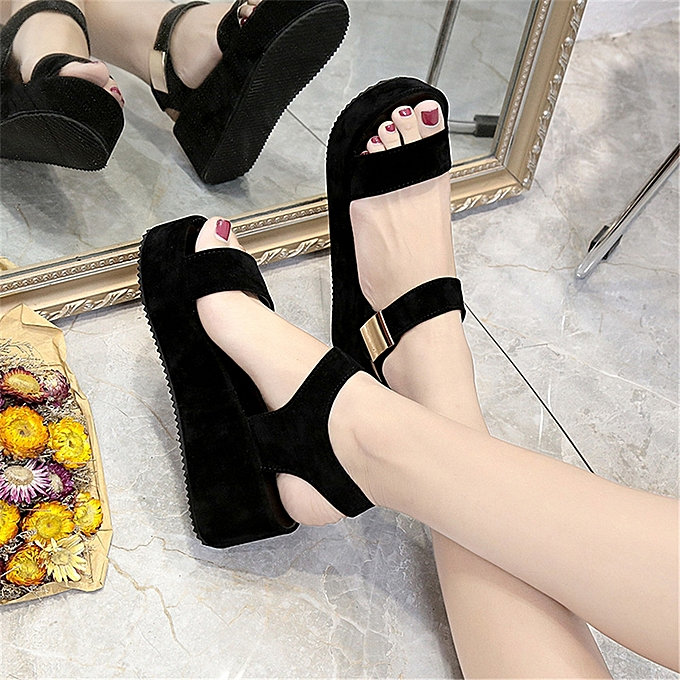 ed2ec3c764a9 Blicool Shop Women Sandals Women s Summer Sandals Shoes Peep-toe Low Shoes  Roman Sandals Ladies ...