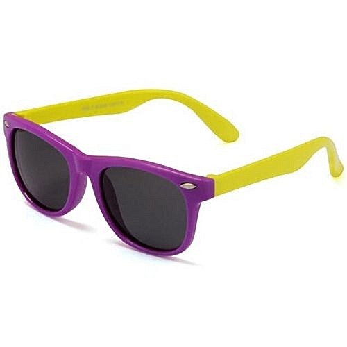 ca9027941f Fashion 2016 New Children TAC Polarized Sunglasses Kids Designer Sport  Shades For Girls Boys Goggle Baby Glasses(Purple)