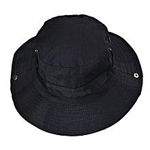 Bucket Hat Boonie Hunting Fishing Outdoor Wide Cap Brim Military BK