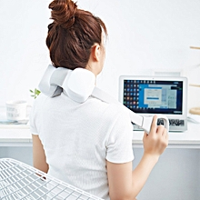 M1 2-way Kneading Speed Adjustable Mini Neck Massager with Flexible Silicone Belt from Xiaomi youpin - WHITE