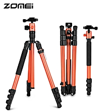 Zomei M3 Lightweight Aluminum Travel Portable Tripod with Monopod Function-ORANGE