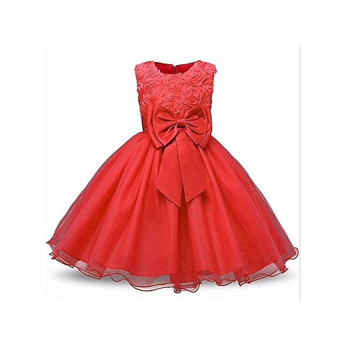 Buy Generic Formal Party Dresses Baby Teenage Girl Clothes Kids ...