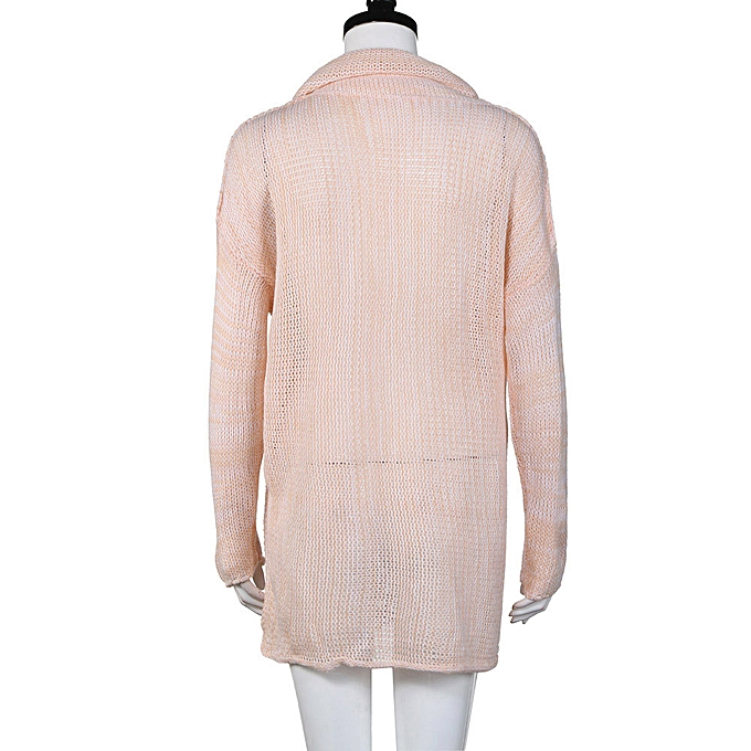 ce7da69f9460fa Hiamok Women Loose Long Sleeve Fall Winter Oversize Sweater Jumper Shirt  Tops PK M
