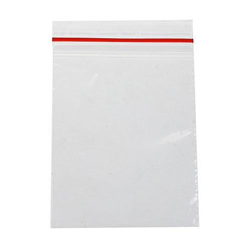 Blue Lans Ziplock Plastic Bags Set Of 100 Clear