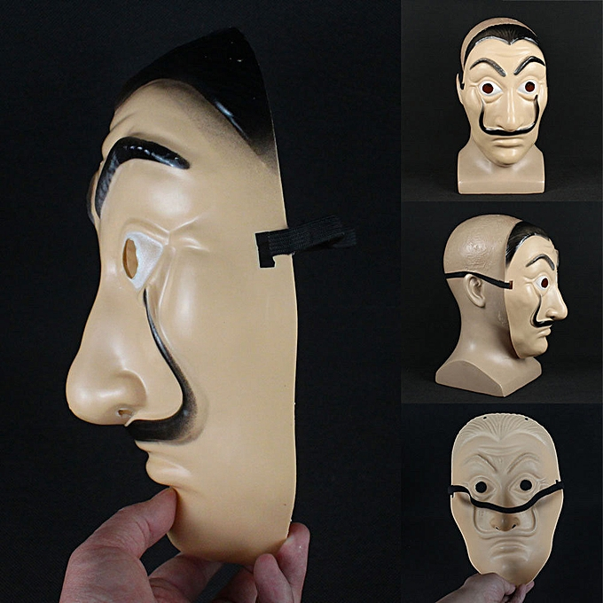 Face Mask La Casa De Papel Mask Salvador Dali Mascara Masque Money Heist  Cosplay Props Toy