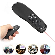 New Wireless Presenter Receiver Pointer Case Remote Control With Red Laser Pen