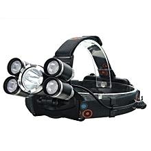 35000 Lumens 5x  T6 LED Headlamp USB Rechargeable 18650 Headlight Head Torch