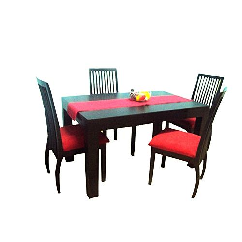20b8bdc1b174b Generic Farah Dining Table with 6 Chairs - 104 x 183 x 76 - Mahogany ...