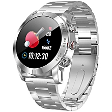 "DT NO.I S10 Smart Watch 1.3"" 64KB RAM 512KB ROM IP68 350mAh - SILVER"
