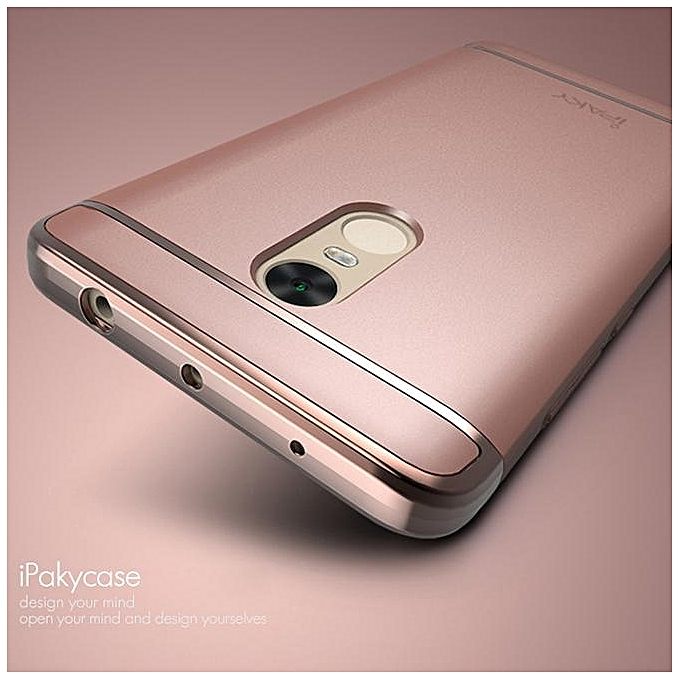 ... IPAKY Metallic Plating 3-In-1 Hard Shell For Xiaomi Redmi Note 4 ...