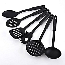 6 Pieces - Heat-Resistant Nonstick Spoons Spatula Turner Scoop Kitchen