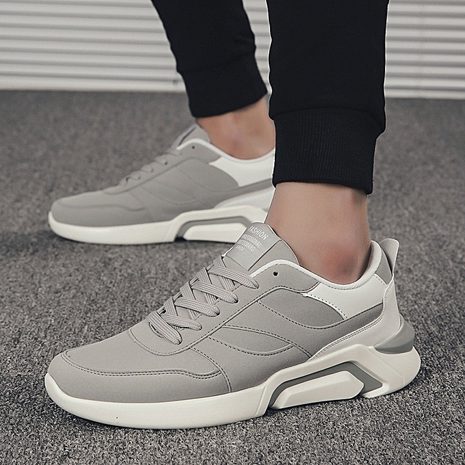 720d8eb7aed New Stylish Stylish Men's British Style Sports Shoes Lace up Heighten  Sneakers-Black