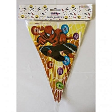 Spiderman party banting-1 pack-multicolored