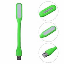 Hot Portable USB LED Light Flexible Silicone Mini USB Lamp For Xiaomi Power Bank Computer Green