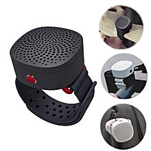 ManlnWhite Mini Portable Wristband Wireless Bluetooth Speaker Heavy Bass Handsfree Outdoors Speaker