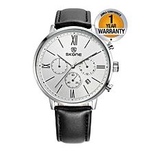 Black Chronograph Men's Watch
