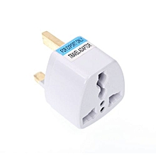 US/UK/EU/AU to UK Plug Socket Charger AC Travel Power Adapter Converter-WHITE