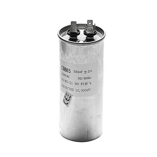 50uF CBB65 450V AC 50/60HZ Air Motor Conditioner Compressor Start Capacitor