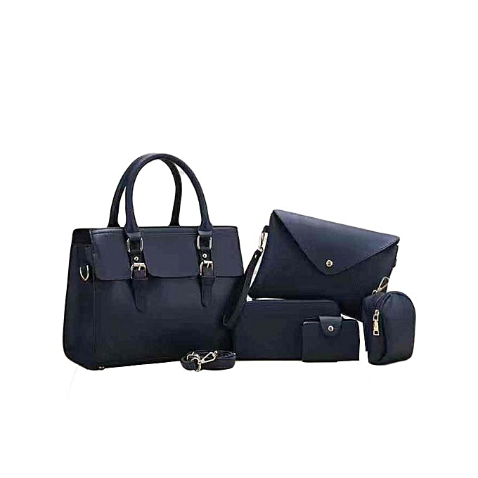 3dcb0757e915 Generic 5 in 1 Pure Leather Handbags   Best Price