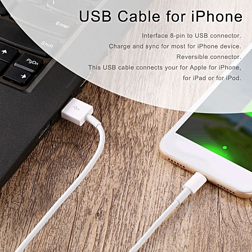 first rate 9c97b 38eb5 New 3PC USB Data Cables for iPhone 8 USB Digital Cables Data Cable for  iPhone 7 6 5s iPad Mobile Phone Cable( )