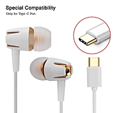 Wireless Earphones Hands-free Call Super Deep Bass Type C In-ear Earbuds With Mic