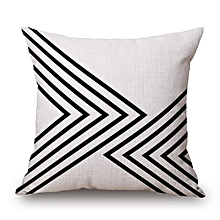Cushion Cover Cotton Linen Throw Pillow Case Square Pillowcase